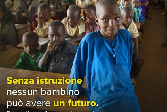 Senza istruzione non c'è futuro